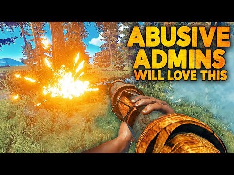 ABUSIVE ADMINS WILL LOVE THIS! (Rust Update)