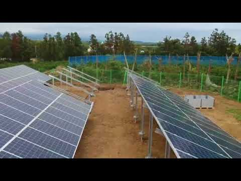 [Ground Screw] Jeju Island solar power station foundation 2제주 청수리 2