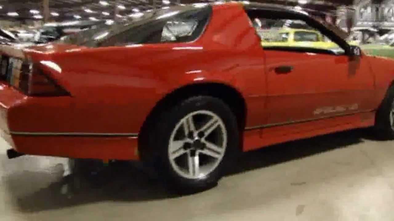 1987 Chevrolet Camaro (Showroom condition) for sale [Louisville ...