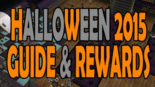osrs event over halloween 2015 event guide and rewards showcasing old school runescape