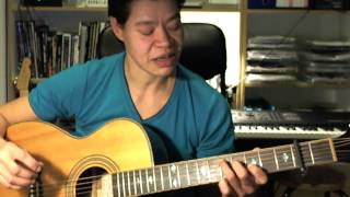 Jason Mraz - I won´t give up - guitar tutorial based on the concert at Qtv Part I (with tabs)