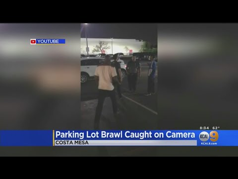 Costa Mesa Confrontation Involving Intoxicated Security Guard Caught On Camera