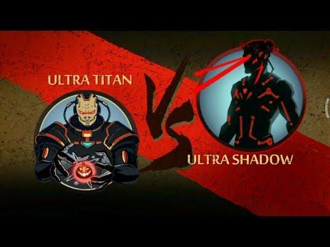 Shadow Fight 2 ULTRA TITAN VS ULTRA SHADOW..
