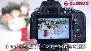 【ビックカメラ】ニコン デジタル一眼レフ D5600 動画で紹介