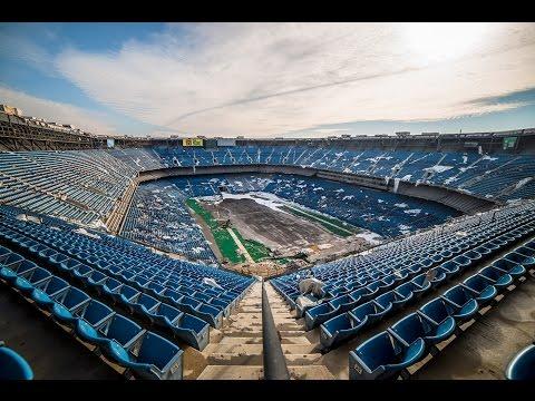 The Abandoned Pontiac Silverdome Stadium - Transformers Last Knight Filming Location!!!