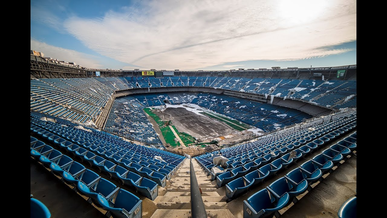 Pontiac Silverdome Demolition On The Way Football Stadium Digest