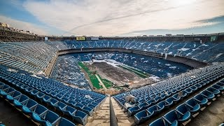 The Abandoned Pontiac Silverdome Stadium