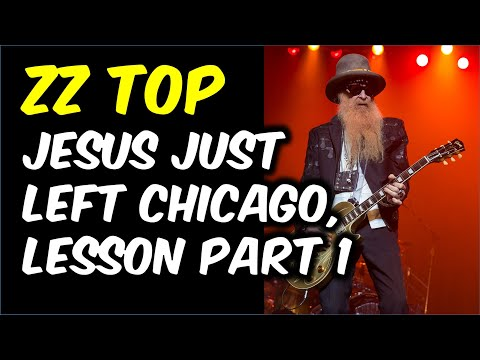 Jesus Just Left Chicago, Part 1 (Guitar Lesson with TAB)