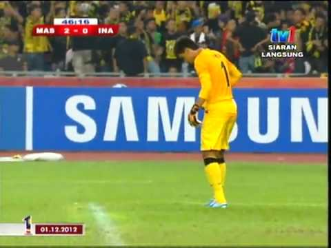 MALAYSIA vs INDONESIA 2-0 AFF Suzuki Cup 2012 [FULL MATCH]