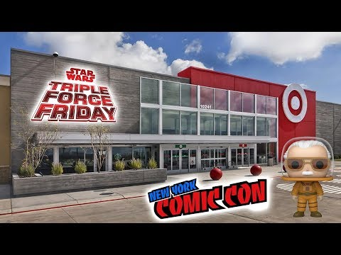 NYCC & TRIPLE FORCE FRIDAY 2019 HUNT - Part 1