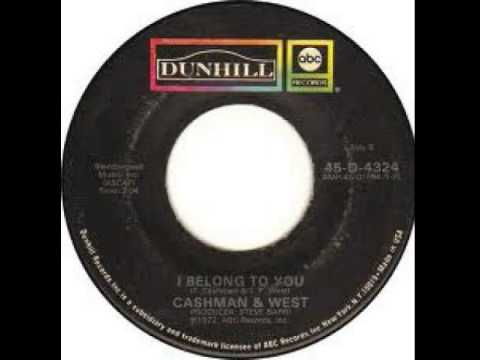 """I Belong To You"" - Cashman & West (1972 Dunhill)"
