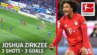 Joshua Zirkzee I 3 Shots 3 Goals in Only 26 Minutes I Bayern s Dutch Young Gun
