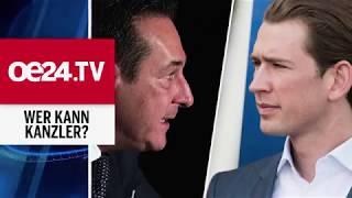 Kurz vs. Strache: Das große TV-Duell