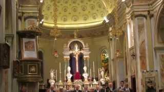 Johann Sebastian Bach - O capo insanguinato corale a 4 voci miste e organo - MVI 3705