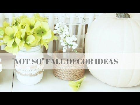 Diy Fall Decor 2017 Dollar Tree Ideas | Fall Decorating Ideas under $10