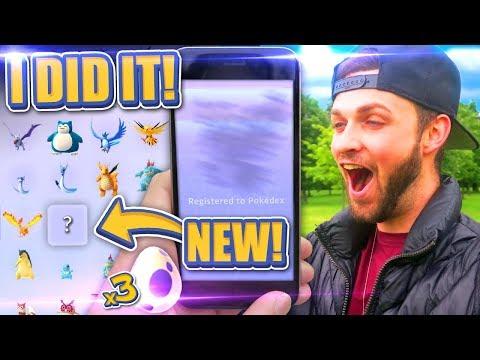 I DID IT - POKEDEX COMPETE! (ALMOST) - Pokemon GO