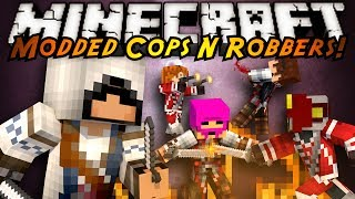 minecraft mini game modded cops n robbers assassin s creed