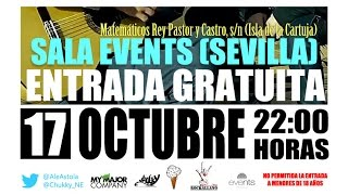 ASTOLA & CHUKKY EN CONCIERTO GRATUITO EL 17/10/14