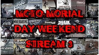 MOTO-MORIAL DAY WEEKEND Bonus Stream - Gravity Games Bike: Street Vert Dirt