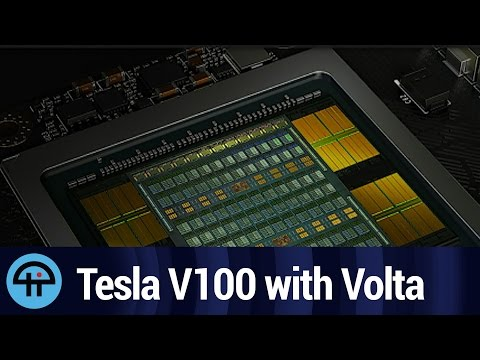 NVIDIA Announces Tesla V100