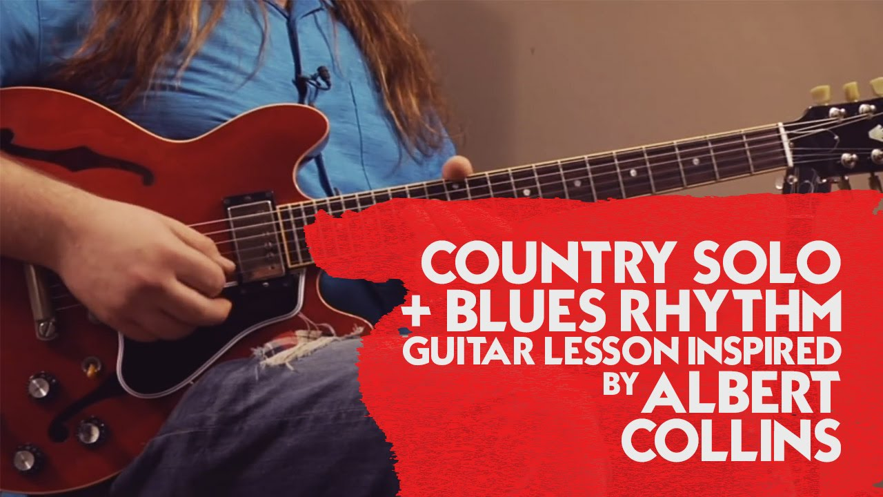 country solo blues rhythm guitar lesson inspired by albert collins youtube. Black Bedroom Furniture Sets. Home Design Ideas