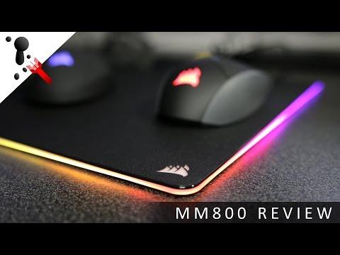 Corsair MM800 RGB Polaris Hard Mouse Pad Review
