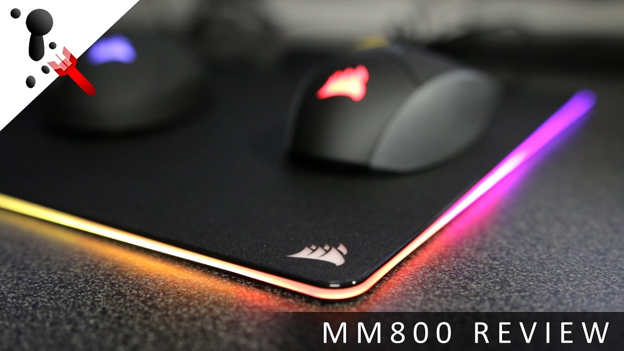 Corsair Mm800 Rgb Polaris Hard Mouse Pad Review Youtube