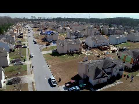 Atlanta Tornado Aftermath