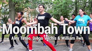 Moombah Town - Alex Tatoo, Diego Vilchis & William Tws Dance l Chakaboom Fitness choreography