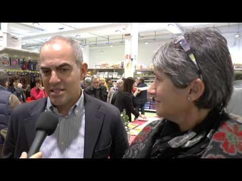 Albenga Sindaco Cangiano alla festa dell'Ortofrutticola