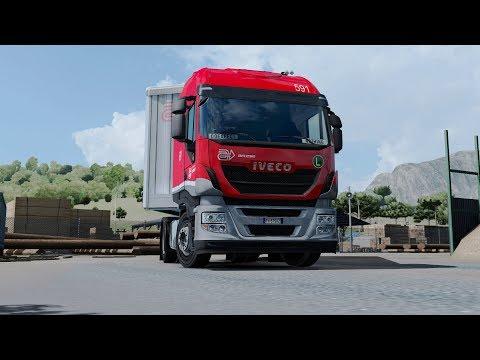 ETS2 1.30 Italia DLC Iveco Hi-Way  Terni - Taranto