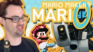 Super Portal Maker (& How to Play Mario Maker on PC!) | Hacked Levels by Psycrow