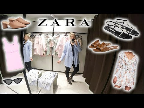 ZARA SHOPPING VLOG & TRY ON - May 2018