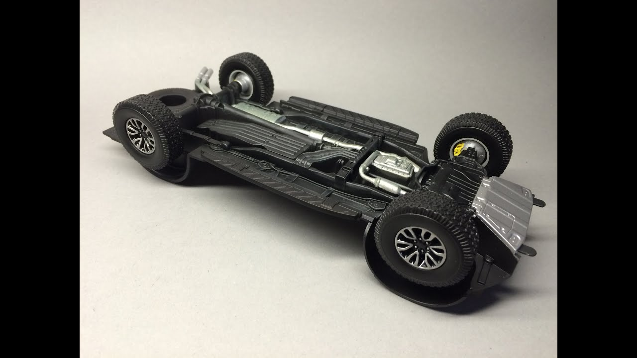 Revell Ford F 150 Raptor Part 4 Chassis  YouTube