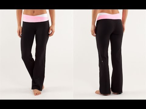 Lululemon Yoga Pants Not for Fat Women Whose Thighs Touch - YouTube