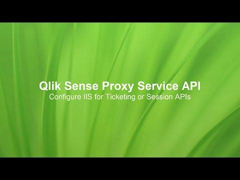Configuring IIS for the Qlik Proxy Service API