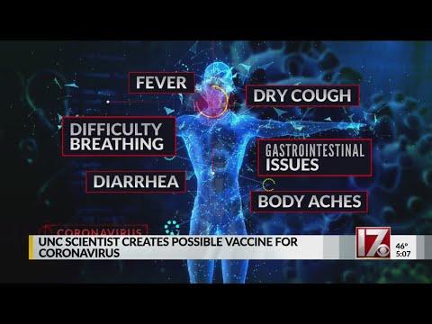 UNC Scientist Creates Possible Vaccine For Coronavirus