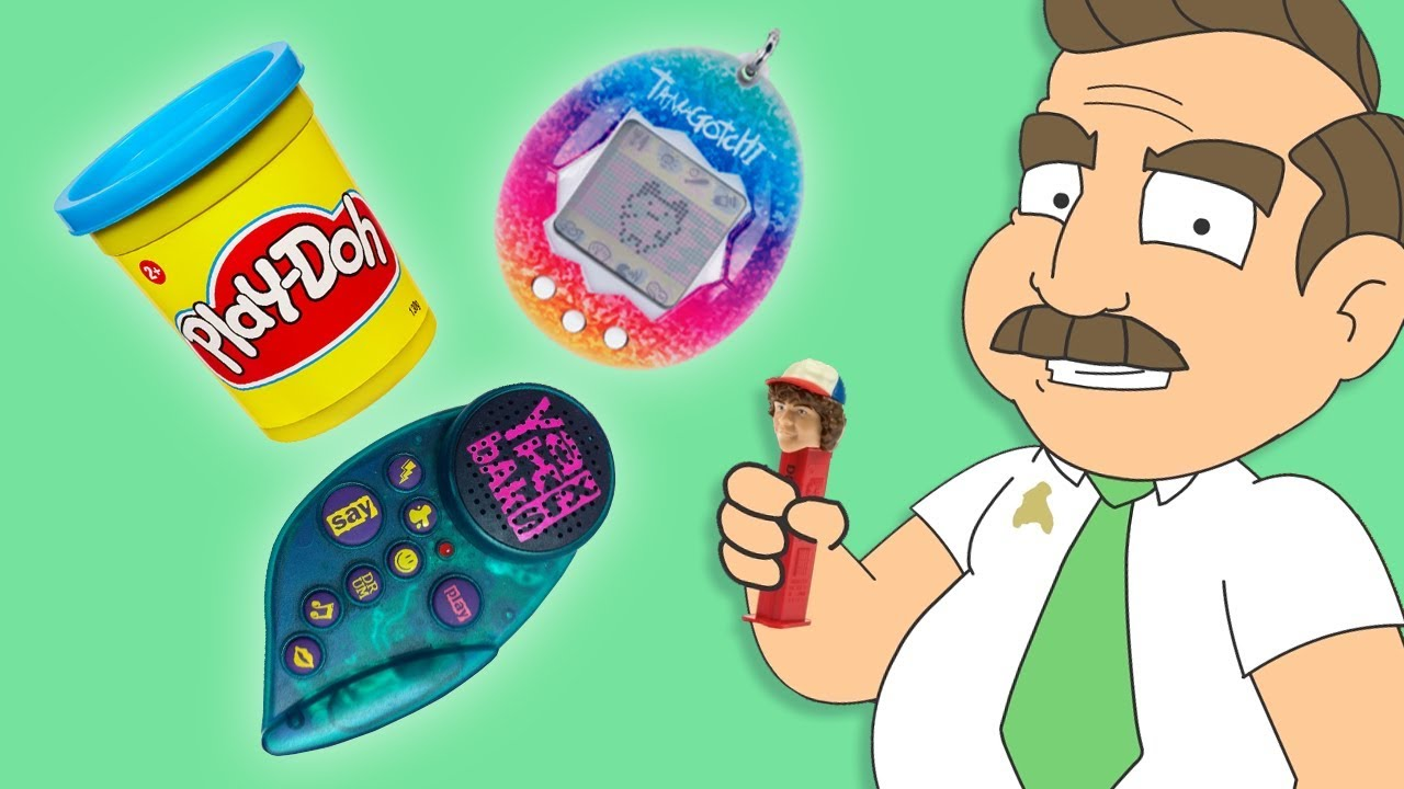 Salty Play-Doh, Tamagotchi, and Rare Pez Dispensers