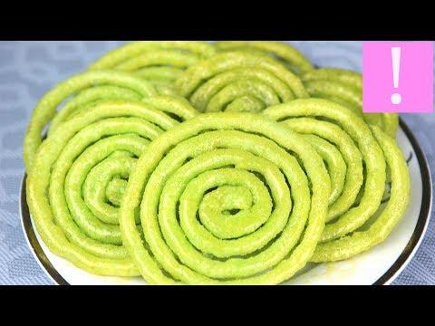 🔴  Простой десерт на сковороде - Злабия (Zlabiya) | Сладкое к чаю | Алжирская кухня