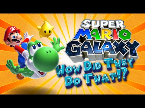 How Did They Do That - Mario Galaxy's Gravity