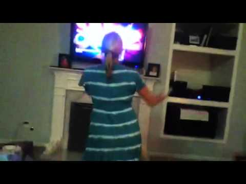 My Friend S Mom Dancing On Just Dance 2 Youtube