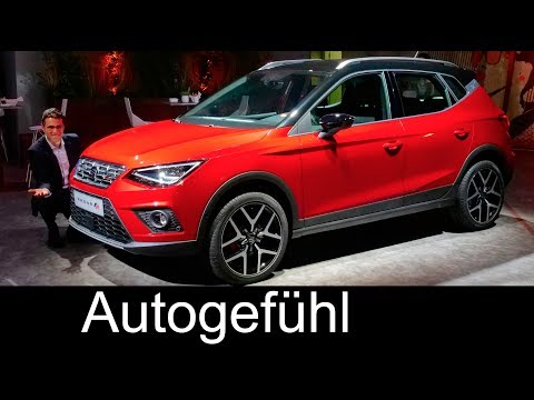 Seat Arona World Premiere REVIEW all-new SUV neu - Autogefühl