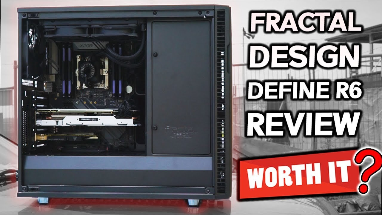 Buy Fractal Design Define R6 Gunmetal ATX Case, T/G Window, No PSU