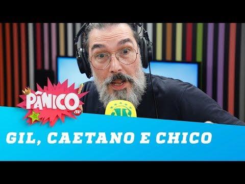"""Lobão critica Gil, Caetano e Chico: """"uns bostas"""""""