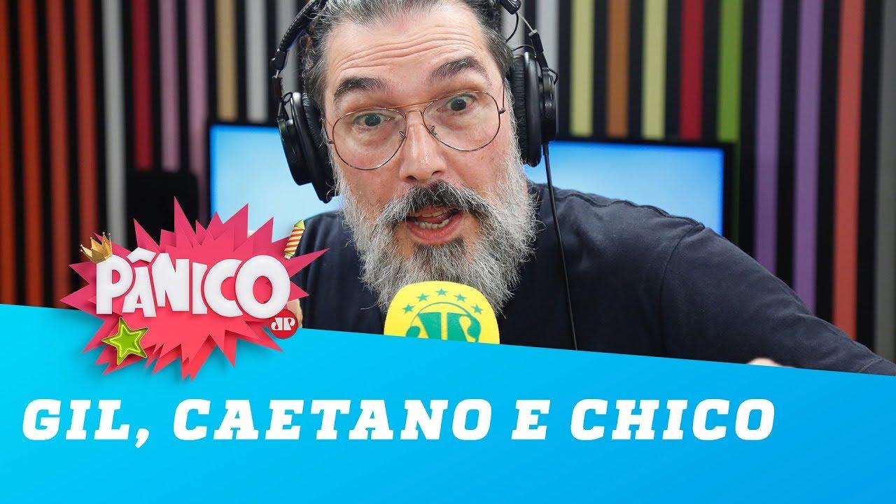 Lobão critica Gil, Caetano e Chico: