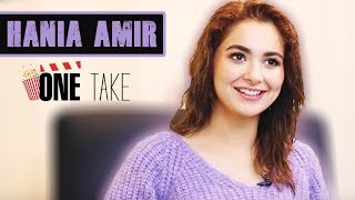 Did Hania Amir Wore Burkha In College? Hilarious Answer | Hania Amir Exclusive Interview | One Take