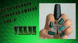 Reto Colores: Verde/ Placa ND013 Nicole Diary