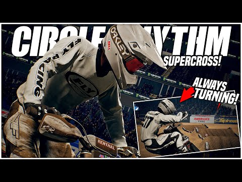 I Tested Out a CIRCLE RHYTHM TRACK! (Monster Energy Supercross: The Official Videogame 3) |