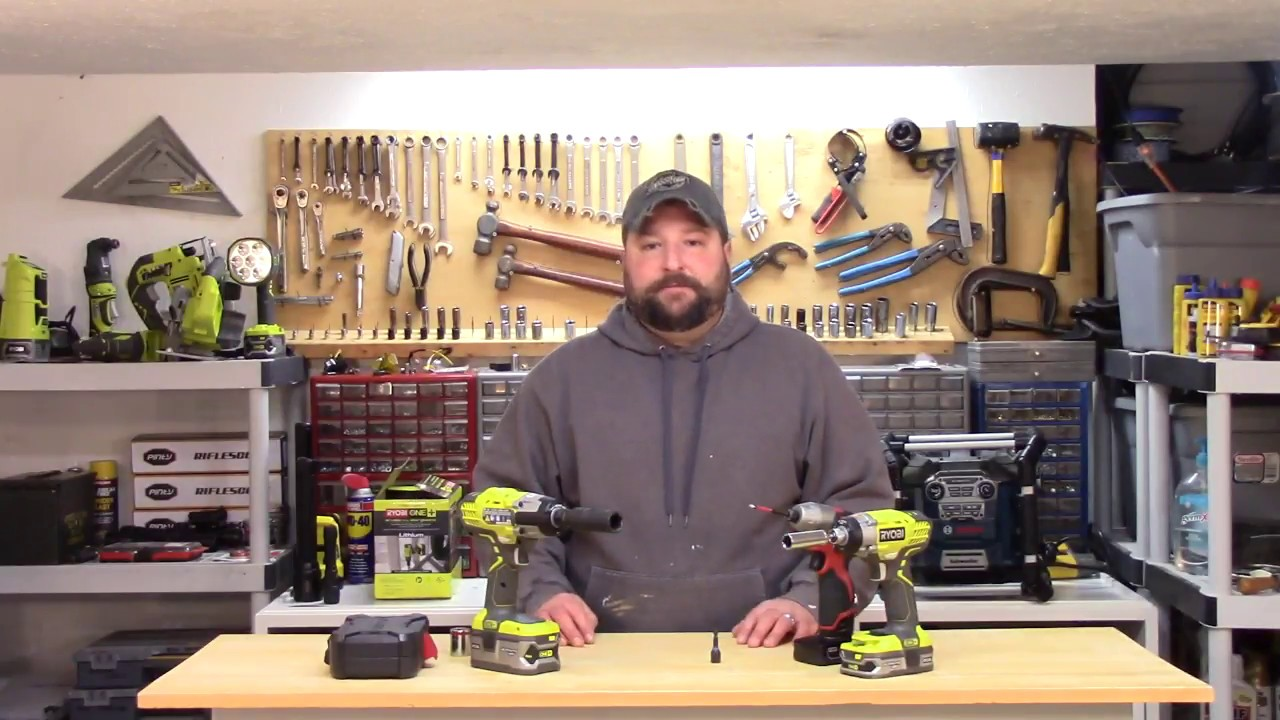 Impact Driver Vs Wrench Or Just Use A Hammer Drill
