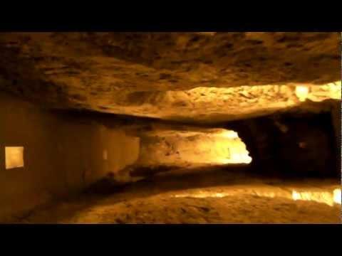 Jerusalem cave KOTEL / close to the Foundation Stone Jerusalem's the most holiest area
